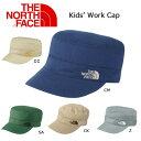 【スマホエントリ限定P10倍 03/25 10:00〜】ノースフェイス THE NORTH FACE キャップワークキャップ(キッズ) Kids' Work C...