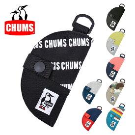 【スマホエントリでP10倍確定!12日 10時〜】CHUMS チャムス Half-moon Key Case Sweat Nylon CH60-2690 【アウトドア/日本正規品/キーケース/三日月】【メール便・代引不可】