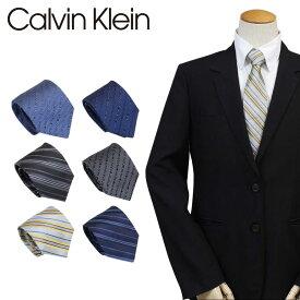 【最大2000円OFFクーポン】 カルバンクライン Calvin Klein ネクタイ シルク メンズ CK ビジネス 結婚式 ブランド