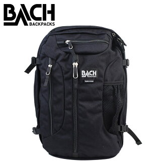 Bach backpack 28L BACH rucksack TRAVELSTAR 28 コーデュラ 132501 lady's men's black [3/16 Shinnyu load]