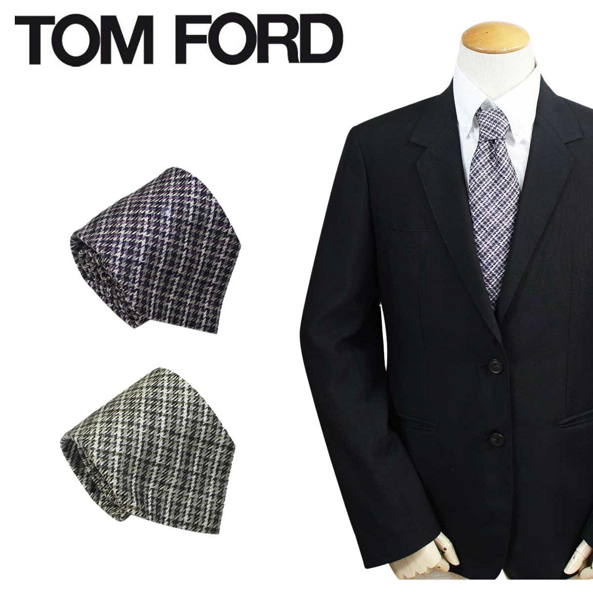 トムフォード TOM FORD ネクタイ シルク メンズ カジュアル ビジネス 結婚式 イタリア製 【決算セール】