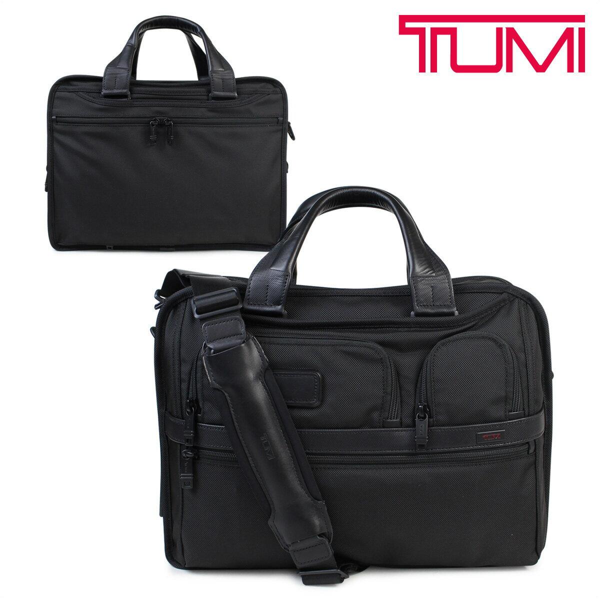 【最大2000円OFFクーポン】 TUMI トゥミ ビジネス バッグ メンズ 026141D2 ALPHA2 ブリーフケース EXPANDABLE ORGANIZER COMPUTER BRIEF ブラック