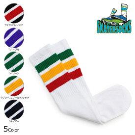 スケーター ソックス Skater Socks チューブソックス 19インチ 靴下 19 INCH MID-CALF STRIPED TUBE SOCKS メンズ レディース 5カラー 【ネコポス可】