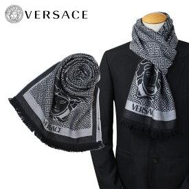 【最大2000円OFFクーポン】 ヴェルサーチ VERSACE マフラー メンズ ウール イタリア製 カジュアル ビジネス 0627 ベルサーチ