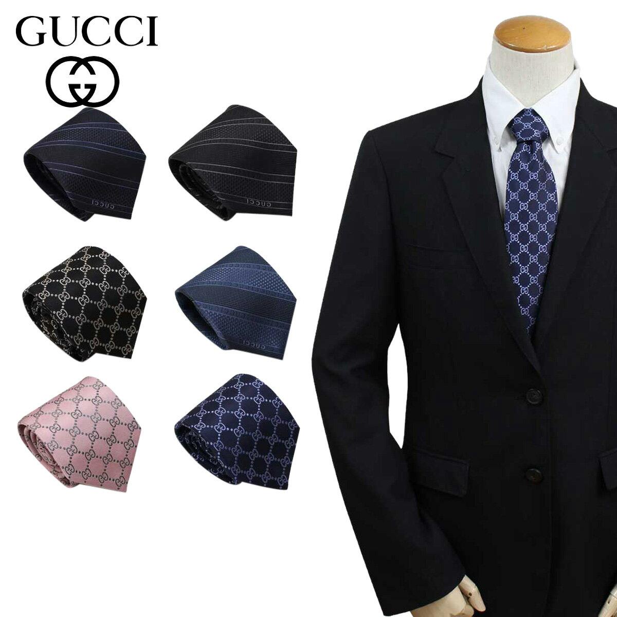 グッチ GUCCI ネクタイ イタリア製 シルク ビジネス 結婚式 TIE メンズ [4/10 追加入荷]