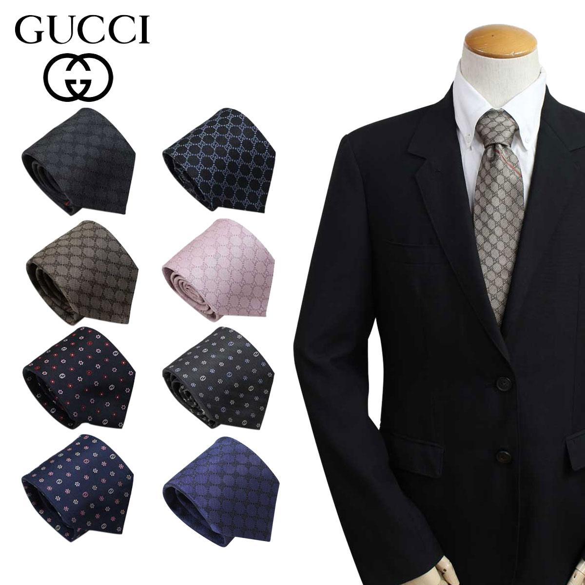 グッチ GUCCI ネクタイ イタリア製 シルク ビジネス 結婚式 TIE メンズ [1/16 追加入荷]