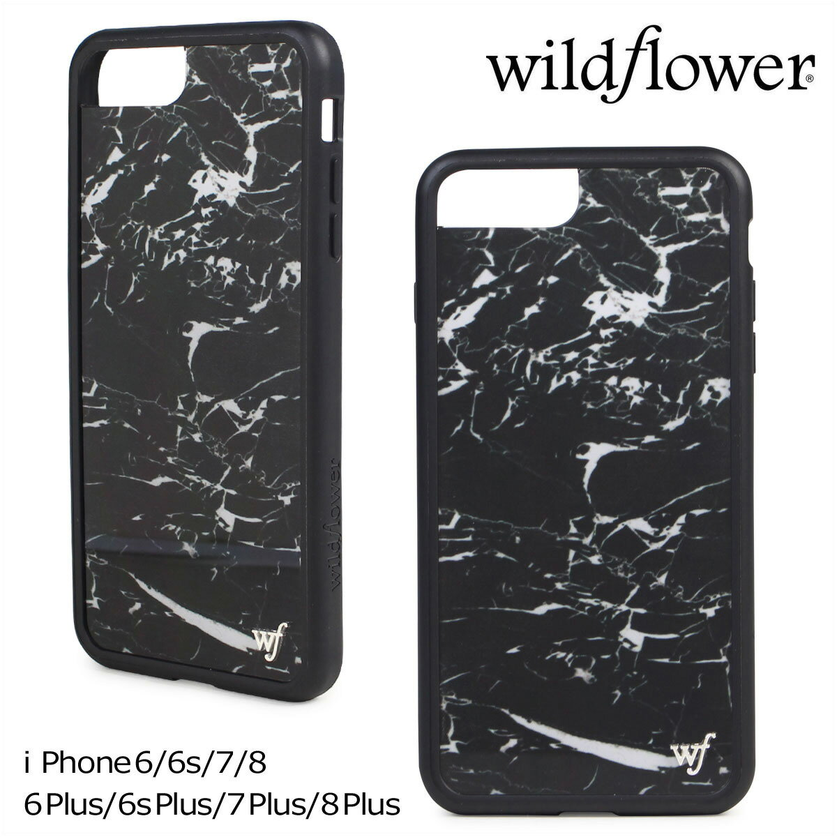 wildflower ケース スマホ iPhone8 Plus ワイルドフラワー iPhone ケース 7 6s 6 アイフォン レディース 【ネコポス可】