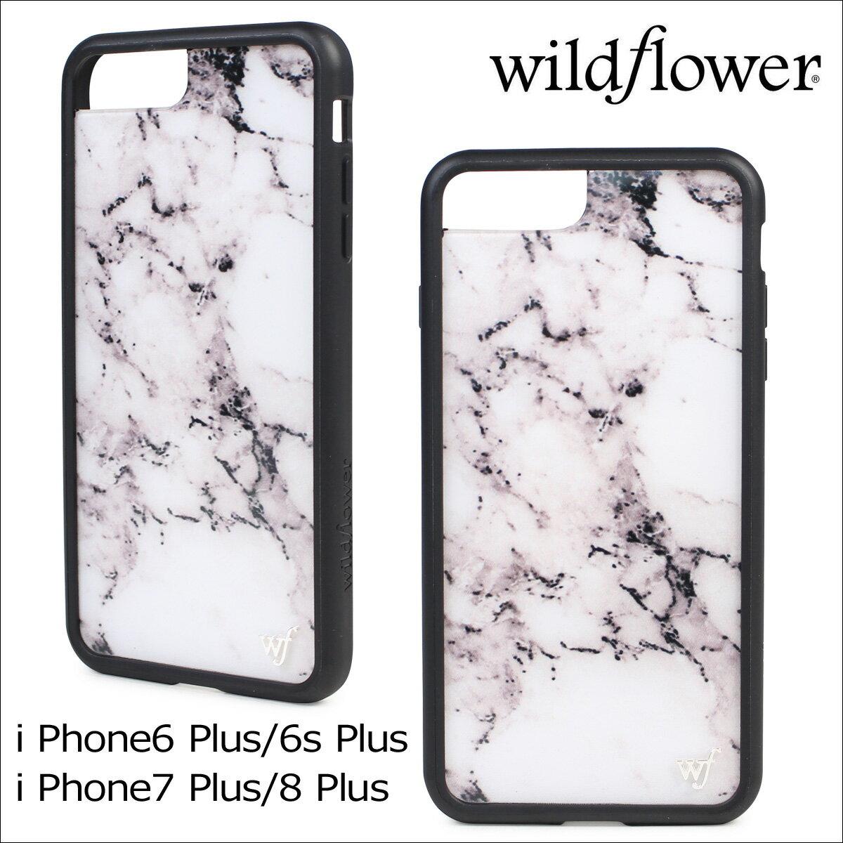 wildflower ケース スマホ iPhone8 Plus ワイルドフラワー iPhone ケース 7 6s 6 アイフォン レディース ハンドメイド [12/28 追加入荷] 【ネコポス可】