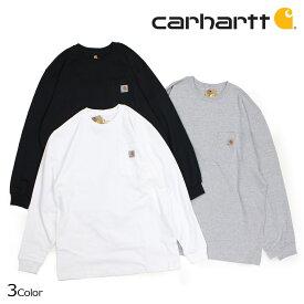 【決算SALE】 カーハート carhartt Tシャツ メンズ 長袖 ロンT WORKER POCKET LS T-SHIRTS K126