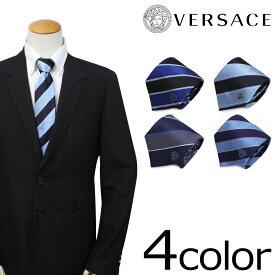 ヴェルサーチ VERSACE ネクタイ シルク メンズ ギフト ケース付 イタリア製 ビジネス 結婚式 ベルサーチ
