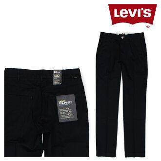 李维斯502 LEVI'S卡其色系短裤人伸展裤子STA-PREST黑色47959-0004[4/20新进货]