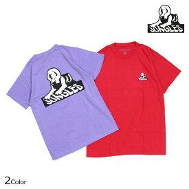 ジャングルズ JUNGLES Tシャツ メンズ 半袖 SPHINX LOGO TEE レッド パープル JTS181007