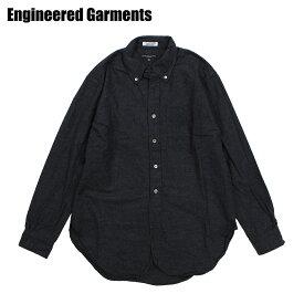 エンジニアドガーメンツ ENGINEERED GARMENTS シャツ メンズ 長袖 オックスフォードシャツ 19 CENTURY BUTTON DOWN SHIRT チャコール F8A0139