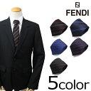 【最大2000円OFFクーポン】 フェンディ FENDI ネクタイ シルク イタリア製 ビジネス 結婚式 メンズ