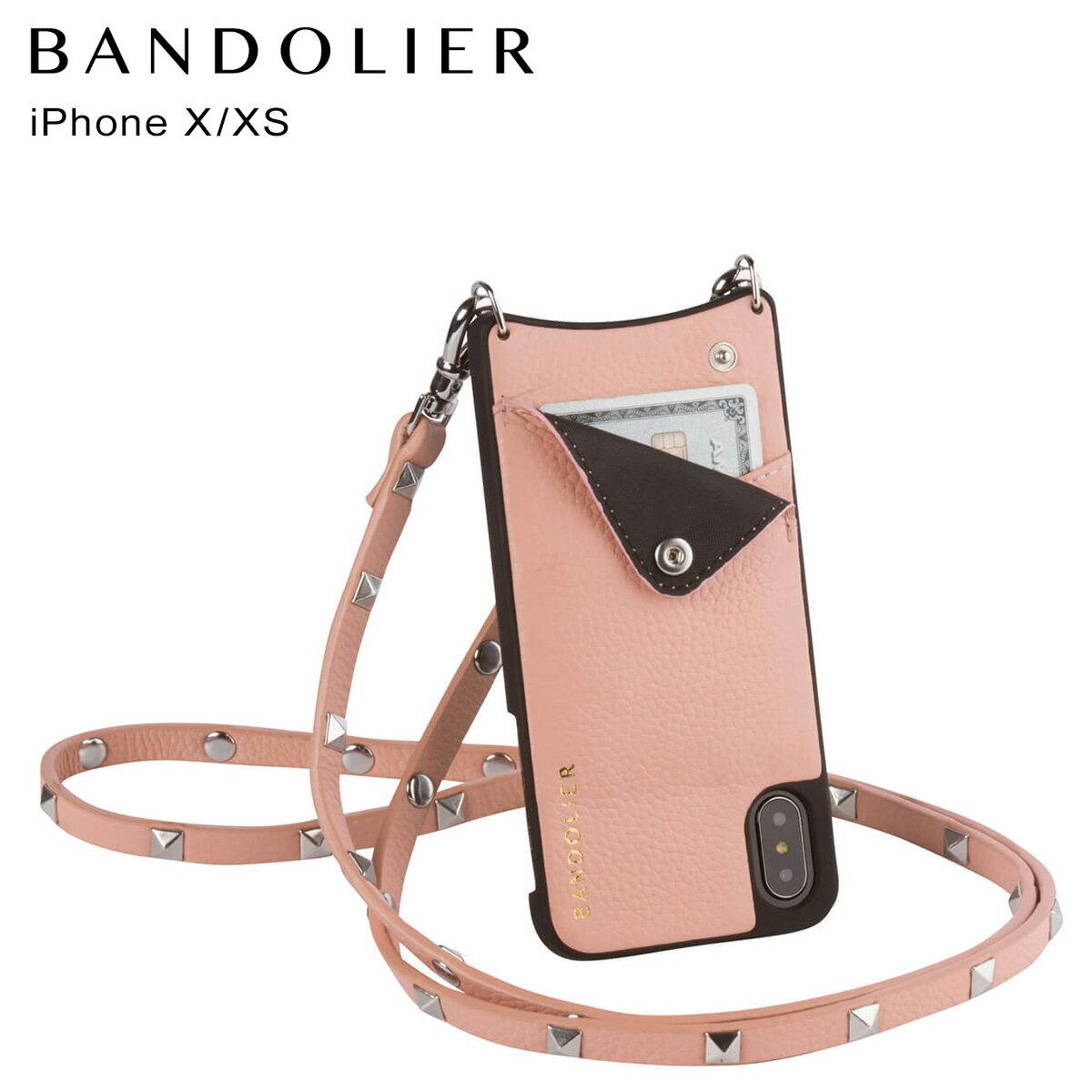 BANDOLIER バンドリヤー iPhoneXS X ケース スマホ アイフォン SARAH BLUSH メンズ レディース [4/18 再入荷]