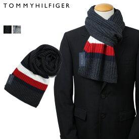 トミーヒルフィガー TOMMY HILFIGER マフラー メンズ グレー ライトグレー H8C83248 TH-F18-0048