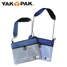 ヤックパック YAKPAK ショルダーバッグ サコッシュ メンズ レディース SACOCHE HICKORY ブルー YPSC-0002