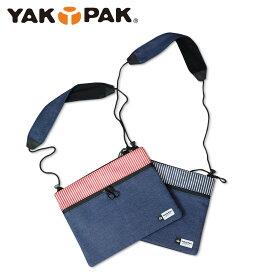 ヤックパック YAKPAK ショルダーバッグ サコッシュ メンズ レディース SACOCHE DENIM インディゴ YPSC-0003