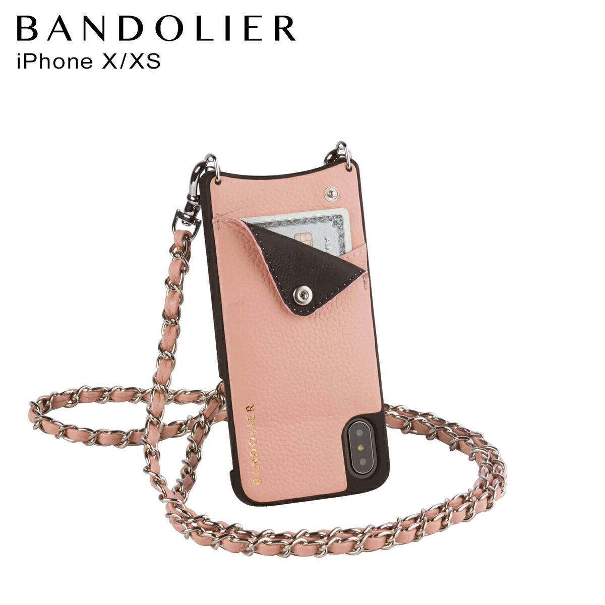 BANDOLIER バンドリヤー iPhoneXS X ケース スマホ アイフォン LUCY BLUSH メンズ レディース