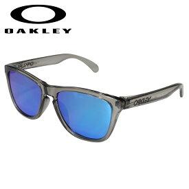 【最大1000円OFFクーポン】 オークリー Oakley サングラス フロッグスキン アジアンフィット メンズ レディース Frogskins ASIA FIT グレーインク OO9245-42