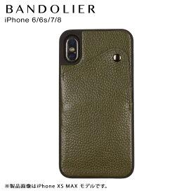 BANDOLIER バンドリヤー iPhone 8 7 6s 6 ケース スマホ 携帯 アイフォン レザー ALEX GREEN メンズ レディース グリーン