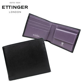46744f82d97e ETTINGER STERLING BILLFOLD WITH 3 C/C & PURSE エッティンガー 財布 二つ折り メンズ レザー