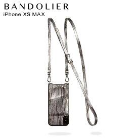BANDOLIER バンドリヤー iPhone XS MAX ケース スマホ 携帯 アイフォン EMMA SILVER WAVE メンズ レディース シルバー 10EMM