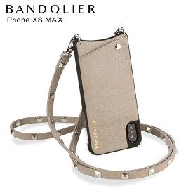 【最大2000円OFFクーポン】 BANDOLIER バンドリヤー iPhone XS MAX ケース スマホ 携帯 アイフォン レザー SARAH GREIGE メンズ レディース グレージュ 10SAR [7/30 再入荷]