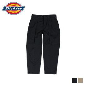 ディッキーズ Dickies ワークパンツ パンツ チノパン メンズ TCツイル タック入り TC TWILL RELAXED PANTS ブラック ベージュ 黒 171M40WD04 DK002290