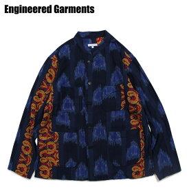 エンジニアドガーメンツ ENGINEERED GARMENTS シャツ 長袖 バンドカラーシャツ メンズ DAYTON SHIRT ネイビー 19SA009-Q