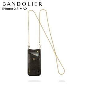 【最大2000円OFFクーポン】 BANDOLIER バンドリヤー iPhone XS MAX ケース スマホ 携帯 アイフォン BELINDA GOLD メンズ レディース ブラック 黒 2002 [12/10 追加入荷]