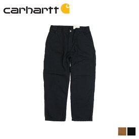 カーハート carhartt パンツ ワークパンツ ペインターパンツ メンズ WASHED DUCK WORK DUNGAREE FLANNEL LINED ブラック ブラウン 黒 B111