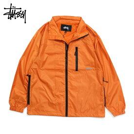 ステューシー STUSSY ジャケット ブルゾン メンズ MICRO RIP JKT オレンジ 115404