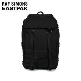 【最大2000円OFFクーポン】 ラフシモンズ RAF SIMONS イーストパック EASTPAK リュック バッグ バックパック トップロード メンズ レディース 42.5L TOPLOAD L LOOP コラボ ブラック 黒 EK93E