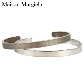 メゾンマルジェラ MAISON MARGIELA バングル ブレスレット メンズ NUMBERS ENGRAVED BRUSHED-SILVER CUFF BRACELET シルバー S30UY0014 S11914 [10/8 新入荷]