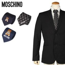 モスキーノ MOSCHINO ネクタイ メンズ シルク ビジネス 結婚式