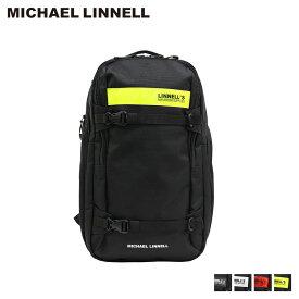マイケルリンネル MICHAEL LINNELL リュック バッグ 29L メンズ レディース バックパック 2FLAP BACKPACK ブラック 黒 ML-030