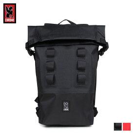 クローム CHROME リュック バッグ バックパック 18L メンズ レディース URBAN EX ROLLTOP 18 ブラック レッド 黒 BG-217