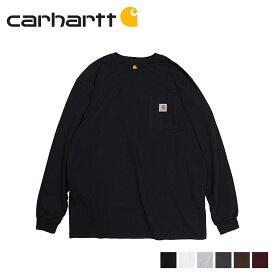 【最大2000円OFFクーポン】 カーハート carhartt Tシャツ メンズ 長袖 ロンT WORKER POCKET LS T-SHIRTS K126