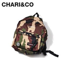 チャリアンドコー イーストパック CHARI&CO NYC EASTPAK パディット パック リュック バッグ バックパック メンズ レディース コラボ EASTPAK PADDED PAKR CAMO カモ