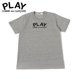 プレイ コムデギャルソン PLAY COMME des GARCONS Tシャツ 半袖 レディース PLAY グレー T0710511 [12/6]