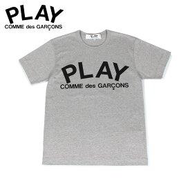 プレイ コムデギャルソン PLAY COMME des GARCONS Tシャツ 半袖 レディース PLAY グレー T0800511