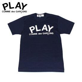 プレイ コムデギャルソン PLAY COMME des GARCONS Tシャツ 半袖 メンズ PLAY ネイビー T1760511