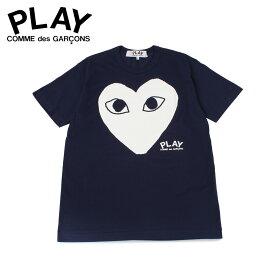 プレイ コムデギャルソン PLAY COMME des GARCONS Tシャツ 半袖 メンズ PLAY ネイビー T0800511