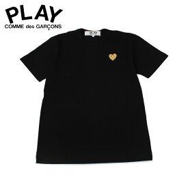 プレイ コムデギャルソン PLAY COMME des GARCONS Tシャツ 半袖 メンズ BASIC LOGO TEE ブラック 黒 T2160511
