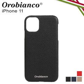 【最大1000円OFFクーポン】 オロビアンコ Orobianco iPhone11 ケース スマホ 携帯 アイフォン メンズ レディース シュリンク PU LEATHER BACK CASE ブラック ネイビー グレージュ レッド 黒