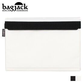 【最大1000円OFFクーポン】 bagjack バッグジャック PCケース PCバッグ パソコンケース メンズ レディース 15インチ対応 LAPTOP COVER ブラック ホワイト 黒 白