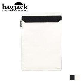 bagjack バッグジャック PCケース PCバッグ パソコンケース メンズ レディース 15インチ対応 LAPTOP COVER ブラック ホワイト 黒 白 [1/22 新入荷]