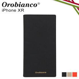【最大1000円OFFクーポン】 オロビアンコ Orobianco iPhoneXR ケース スマホ 携帯 手帳型 アイフォン メンズ レディース GOMMA BOOK TYPE SMARTPHONE CASE ブラック グレージュ オレンジ 黒 ORIP-0007XR