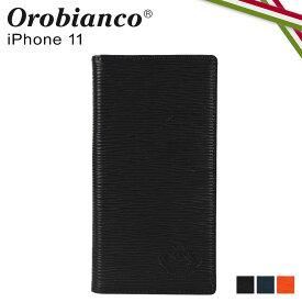 【最大1000円OFFクーポン】 オロビアンコ Orobianco iPhone11 ケース スマホ 携帯 手帳型 アイフォン メンズ レディース ONDA BOOK TYPE SMARTPHONE CASE ブラック ネイビー オレンジ 黒 ORIP-0006-11
